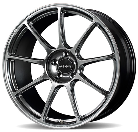 "GT090 21"" 5x120 Brightening Metal Dark Volk Racing RAYS"