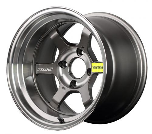 TE37VSL 1920Limited 4x100 Pressed Graphite Fälg Volk Racing RAYS