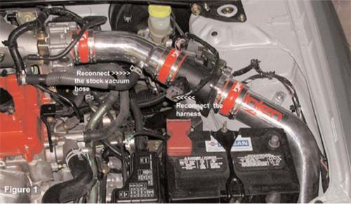 02-06 Sentra SER Spec V 2.5L Cold Air Intake System Injen