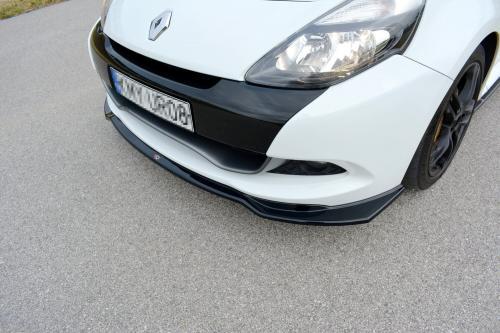 Clio MK3 RS Facelift 09-12 Frontsplitter V.1 Maxton Design