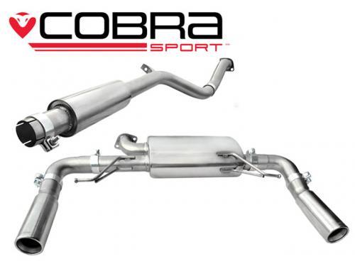 Clio 197 Mk3 2.0 16V 06-09 Catback (Ljuddämpat)  Cobra Sport