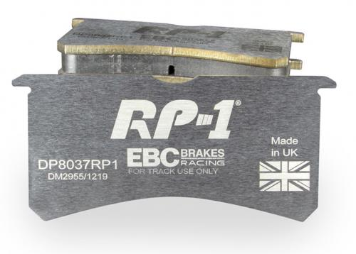 DP82206RP1 RP-1 Front Brake Pads (Racing) EBC Brakes