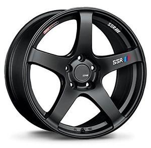 SSR GTV01, 15×4.5, 43, 4x100, φ73×H28, FLAT BLACK