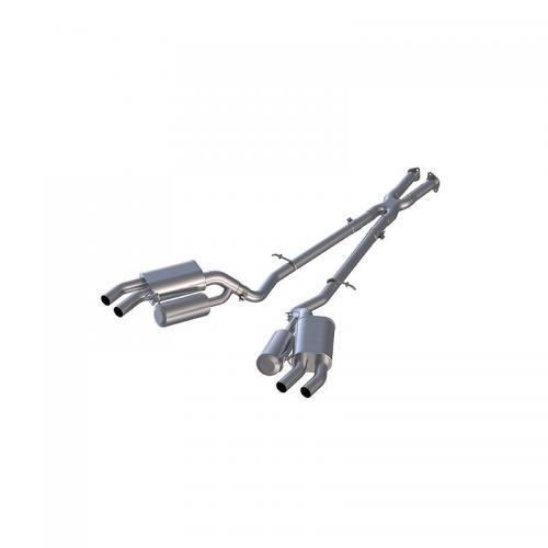 "KIA Stinger 3.3L RWD/AWD 2.5"" Dual Rear Catback Aluminiserat MBRP"
