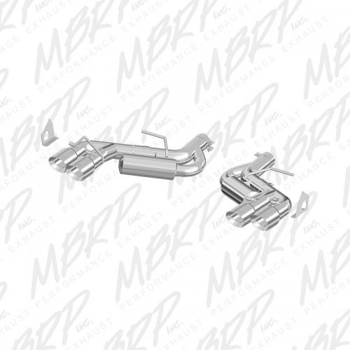 "Camaro 6.2L 6-vxl 16-17 3"" Axleback 4st Utblås T409 MBRP"