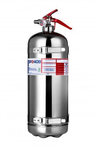 Brandsläckare Bärbar 2.4L Sparco