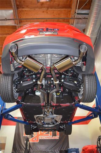 "Camaro 2.0L 4 cyl. Turbo 16-17 3"" Rostfritt Catback Avgassystem Injen"