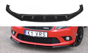 Fabia RS MK2 10-14 Frontsplitter V.1 Maxton Design
