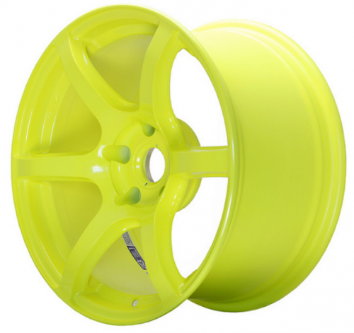 GRAM LIGHTS 57C6, 17X9.0, 40, 5X100, LUMINOUS YELLOW