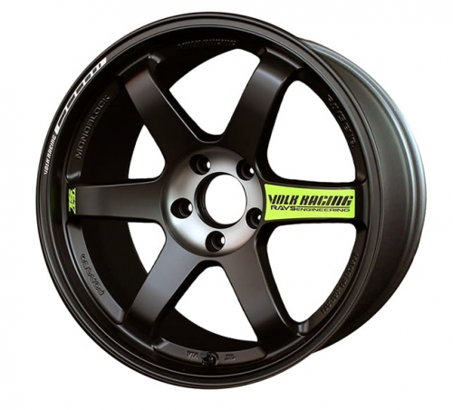 TE37SL Black Edition II 18x9.5 Pressed Black Volk Racing RAYS
