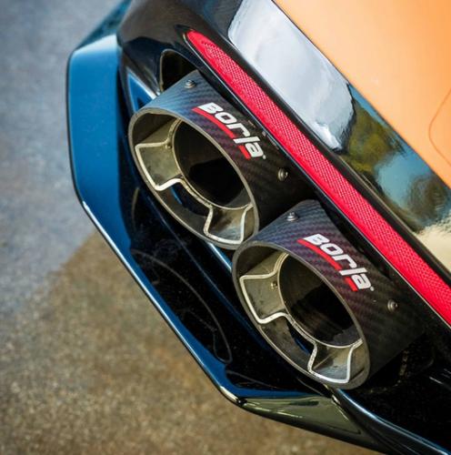 2018-2019 Kia Stinger 3.3L V6 Turbo Automat RWD & 4WD Kolfiberutblås Till bor140736 Borla