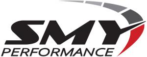 smy performance black red logo