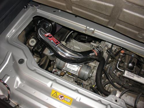 2008-12 FORTWO 1.0L Short Ram Luftfilterkit Injen