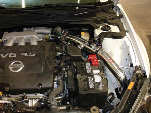 Maxima V6 3.5L 04-08 Polerat CAI Kalluftsintag Luftfilterkit Injen