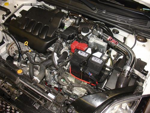 2007-12 Sentra 2.0L 4 cyl.  Cold Air Intake System Injen