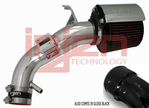 Altima 2.5L (Endast Automat) 07-12 Polerat Short Ram Luftfilterkit Injen