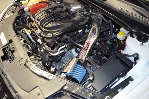 Avenger 3.6L V6 Pentastar 11-14 Polerat Short Ram Luftfilterkit Injen