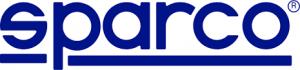 sparco logo blue