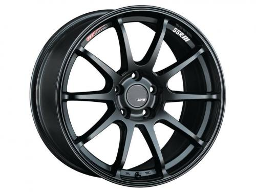 SSR GTV02, 15×4.5, 43, 4x100, φ73×H28, FLAT BLACK