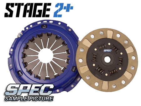 Audi S2 (early 3B) 2.3L 5sp 91-93 Steg 2+ Kopplingskit SPEC Clutch