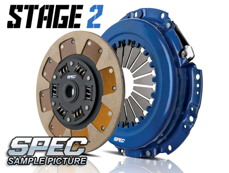 Mazda 626 2.2L Turbo 88-92 Steg 2 Kopplingskit SPEC Clutch