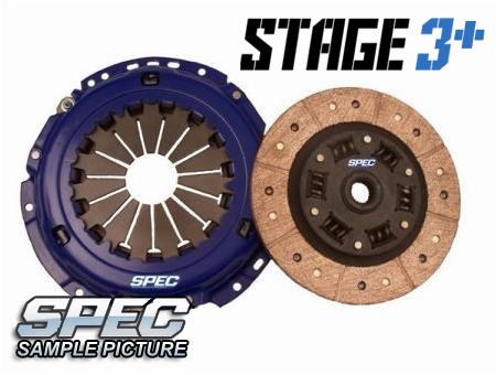 Audi S2 (early 3B) 2.3L 5sp 91-93 Steg 3+ Kopplingskit SPEC Clutch