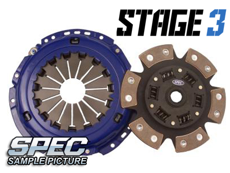 Audi S2 (early 3B) 2.3L 5sp 91-93 Steg 3 Kopplingskit SPEC Clutch