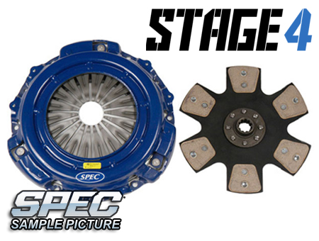 Mazda 626 2.2L Turbo 88-92 Steg 4 Kopplingskit SPEC Clutch