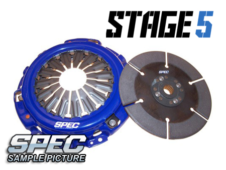 Mazda 626 2.0L Turbo 86-87 Steg 5 Kopplingskit SPEC Clutch