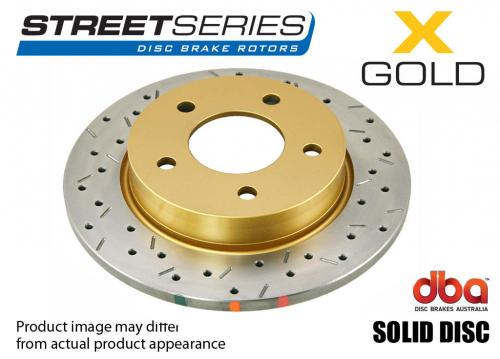 ALFA ROMEO Rear Street Series - X-GOLD Brake Disc (Single) DBA
