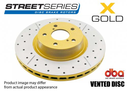 ALFA ROMEO Front Street Series - X-GOLD Brake Disc (Single) DBA