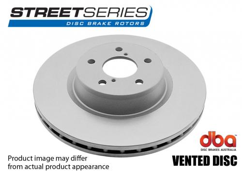 ALFA ROMEO Front Street Series - Plain Brake Disc (Single) DBA