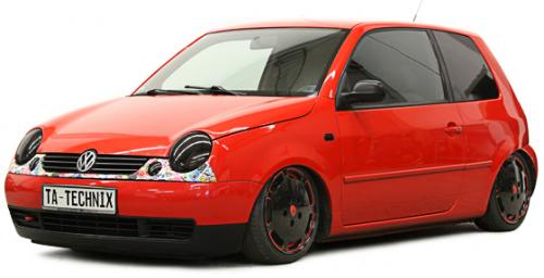 Seat / Volkswagen Arosa / Lupo (6H, 6HS, 6X, 6E, 6ES) 1997 - 2005 Bakre Luftfjädring Fjäderbenskit TA Technix