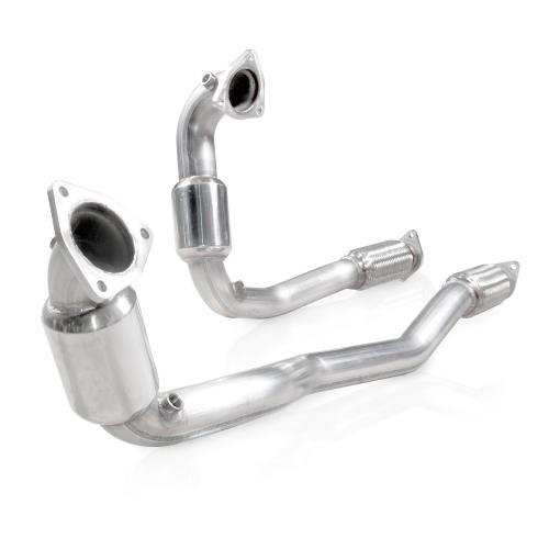 2010-16 Ford Taurus SHO V6 Downpipe High-Flow Cats Stainless Works