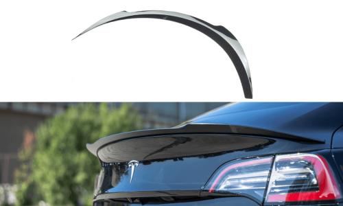 Tesla Model 3 17+ Spoiler Extension V.1 Maxton Design