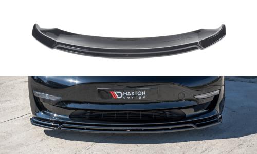 Tesla Model 3 17+ Front Splitter V.2 Maxton Design