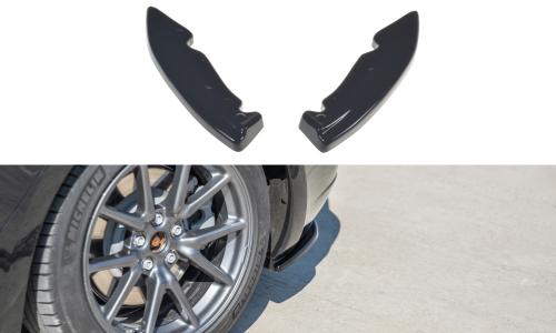Tesla Model 3 17+ Rear Side Splitters V.1 Maxton Design