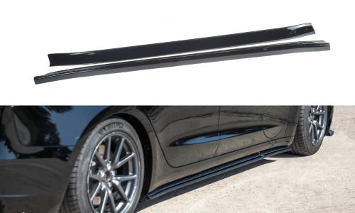 Tesla Model 3 17+ Side Skirts Diffusers V.1 Maxton Design