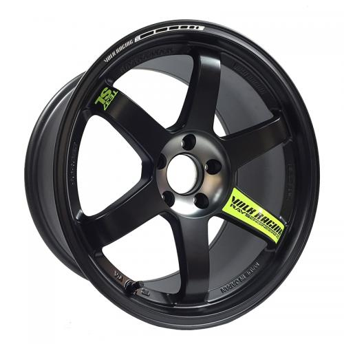 TE37SL Black Edition II 18x10.5 Pressed Black Volk Racing RAYS