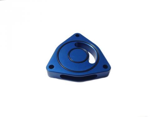 Dodge Neon SRT-4 03-05 Blow Off BOV Sound Plate (Blue) Torque Solution