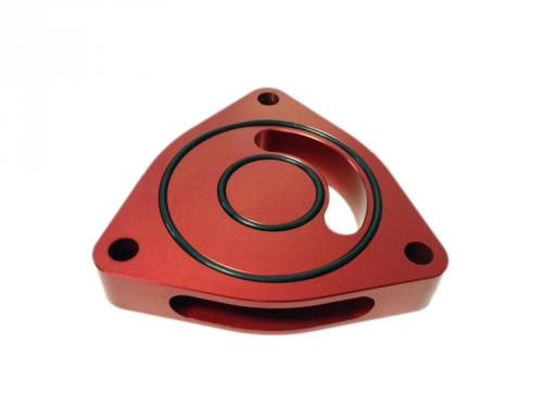 Dodge Neon SRT-4 03-05 Blow Off BOV Sound Plate (Red) Torque Solution