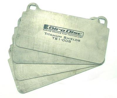 TS-1001-4 - GiroDisc Titanium Backing Plate Kit