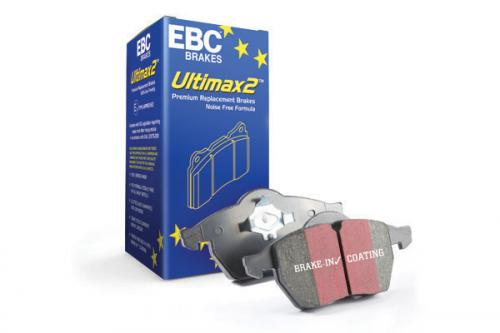DP287 Ultimax2 Front Brake Pads (Street) EBC Brakes