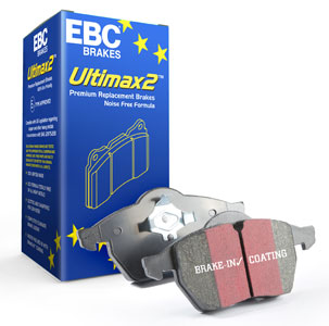 Volvo 140/240/P1800/Amazon Bromsbelägg Bak Ultimax2 EBC Brakes