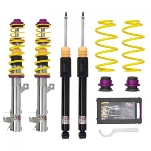 145 / 146 (930) in-line engine (EJ 1.9JTD) 06/94-01/01 Coiloverkit KW Suspension Inox 1