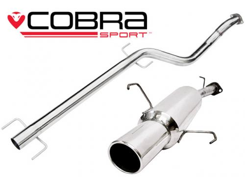 Astra G (Hatchback) 98-04 Catback (Ljuddämpat) Cobra Sport