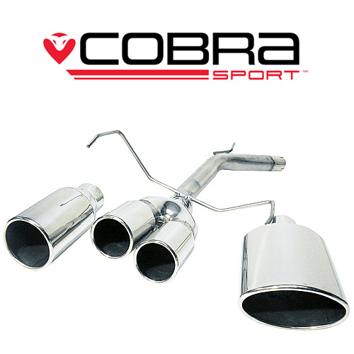 Corsa C (00-06) 1.2L & 1.4L Petrol 00-06 Bakre Avgas (Race Tube) Cobra Sport
