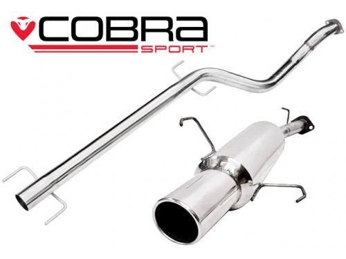Corsa C (00-06) 1.2L & 1.4L Petrol 00-06 Catback (Ej Ljuddämpat) Cobra Sport