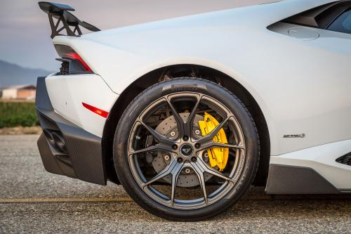 Lamborghini Huracan Stötfångare Inkl Diffuser Vorsteiner Novara Edizione