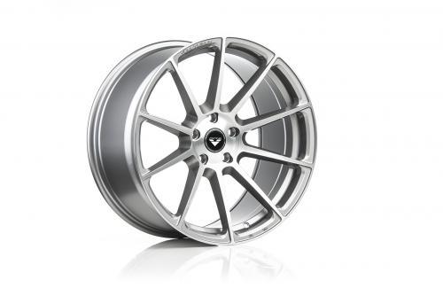 V-FF 102 20X10 5X112 30D 66 Brushed Aluminum